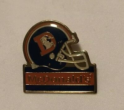 McDonald's Denver Broncos NFL Pin