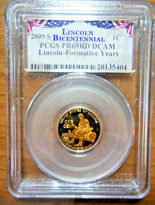 2009 S Lincoln Formative Years PCGS PR69RD DCAM ~LIGHT TONING~ NICE!