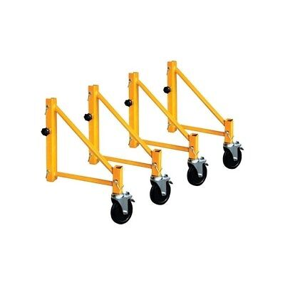Metaltech  Steel  17 in. H Scaffold Outriggers  1000 lb.