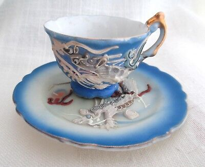 Dragonware Mini Cup and Saucer