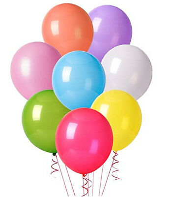 12 Inches Assorted Color Party Balloons 10pcs free shipping