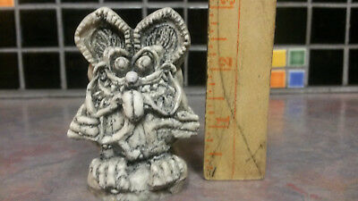 Tiki Fink-  Rat Fink  Resin Figure  From Ed Big Daddy Roth