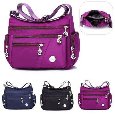 Waterproof Women Lady Nylon Shoulder Bag Travel Shopping Messenger Handbag