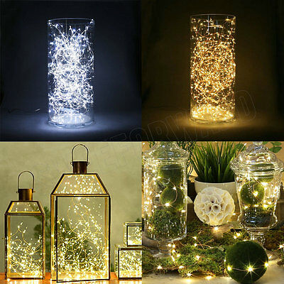 1 M 10 LED MICRO WIRE STRING FAIRY PARTY XMAS WEDDING CHRISTMAS LIGHT decoration