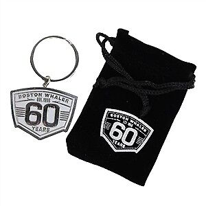 Boston Whaler 60th Anniversary Die Cast Keychain