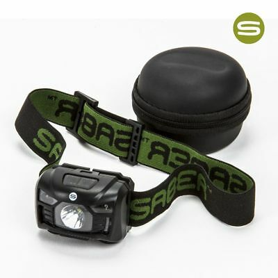 New Saber Sensor Beam Head Torch Headlight Usb Rechargeable With Movement Sensor