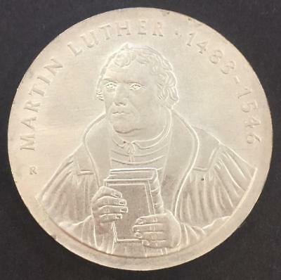 20 Mark Germany 1983 'Martin Luther' Silver coin UNC