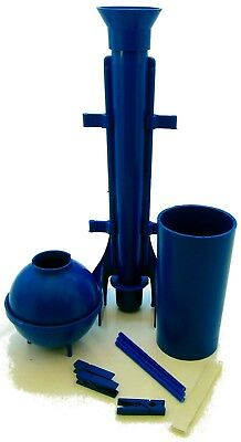 Tapered, ball and pillar moulds pack. With pegs, sticks & putty.  Candle making