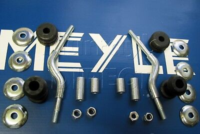 Pair MEYLE Front Anti Roll Bar Links & Bushes Audi 80 90 Coupe & Coupe Quattro