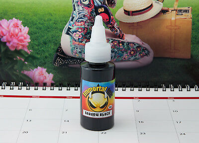 Immortal Tattoofarbe 35ml Shadow Black Tattoo Farbe Tätowierfarbe Ink Color