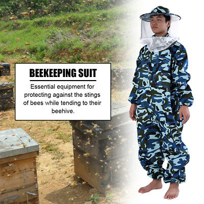 Beekeepers Bee Full Suit Beekeeping Jacket Protective L/XXL Camouflage UK
