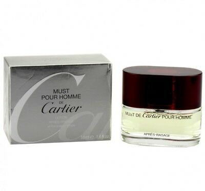Cartier Must Pour Homme 50 ml After Shave Lotion