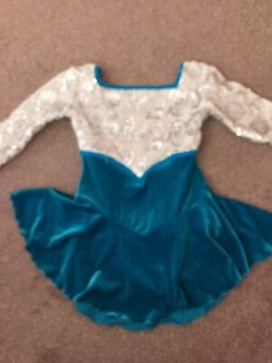 Girls Ice Skating Dress Age 8-10
