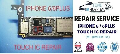 iPhone 6 & iPhone 6 + Plus Touch Disease - IC Repair Service(With M1 Jumper )