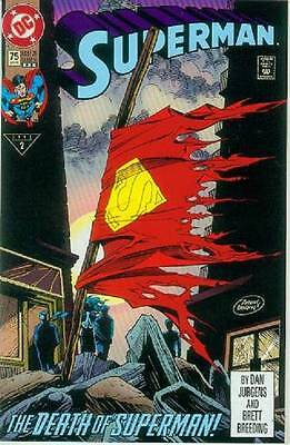 Superman (2nd series) # 75 (death of Superman, 3rd printing) (USA, 1993)