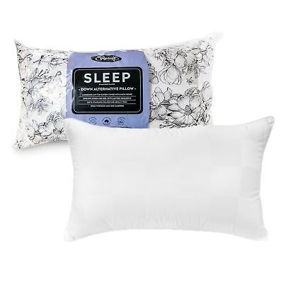 Made in Australia - Sleep Down Alternative Standard Pillow 48 x 73 cm by Easyres