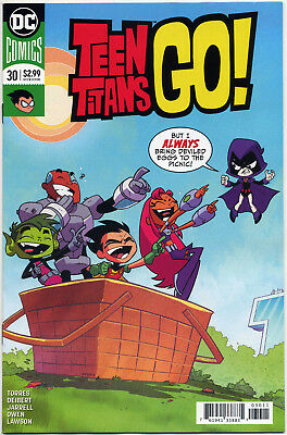 Teen Titans Go! #30 (2018) Near Mint First Print Bagged And Boarded