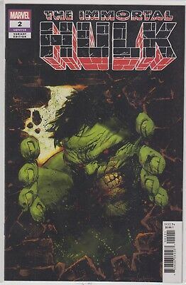 The Immortal Hulk # 2  Nm  Zaffino 1:25 Variant  2018