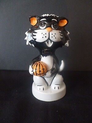"""Lorna Bailey Collectors Hand Painted Signed Cat """"halloween"""" Brand New Unused"""