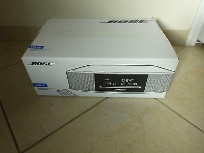 NEW SEALED Bose Wave Music System IV CD PLAYER Radio Alarm  PLATINUM SILVER