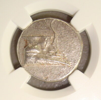 4th Century BC Lycia, Phaselis Ancient Greek Silver Stater NGC Ch AU 4/5 4/5