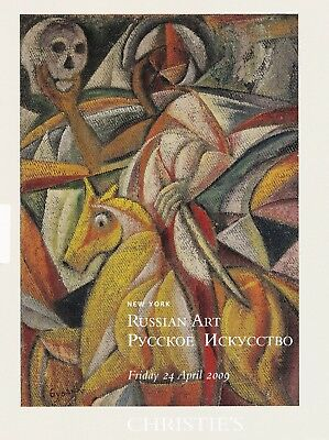 RUSSIAN ART: PAINTINGS, FABERGÉ u.a.: Christie's N.Y. 09 + results