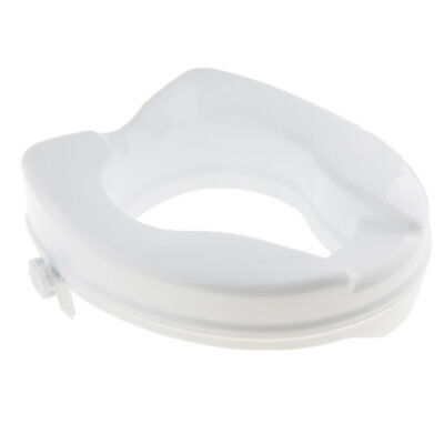 Potty Toilet Seat Riser Raised Elevated Elongated Lifter Extender 2 inch