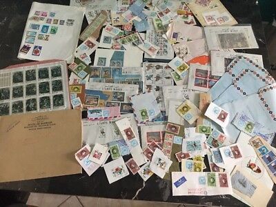 Great Stamps Covers Pieces Lot Mostly Bahrain