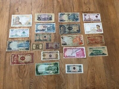 Lot Of 20 Vietnam All Different Collection Banknotes Foreign Paper Money