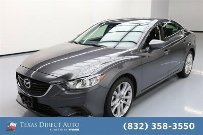 Mazda Mazda6 Touring Texas Direct Auto 2017 Touring Used 2.5L I4 16V Automatic FWD Sedan