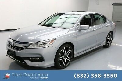 Honda Accord Touring Texas Direct Auto 2016 Touring Used 3.5L V6 24V Automatic FWD Sedan