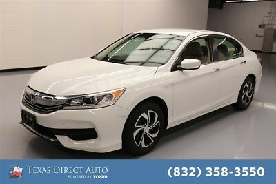 Honda Accord LX Texas Direct Auto 2016 LX Used 2.4L I4 16V Automatic FWD Sedan