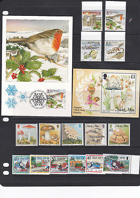 Isle of Man - Selection of Unmounted Mint Stamps and Minisheet from 1995 - A011