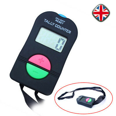 Electronic Digital Up Down Tally Counter outdoor Supervisor Security Clicker UK