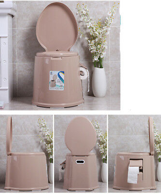 E04 Outdoor Indoor Portable Toilet Pedestal Pan Camping RV Caravan Parts M