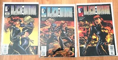 Marvel Knights, Black Widow Issues 1, 2, 3 Set, Grayson Jones
