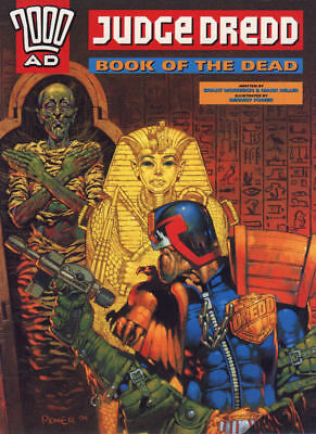 2000AD ft JUDGE DREDD in BOOK of the DEAD - GRAPHIC NOVEL - EXCELLENT CONDITION