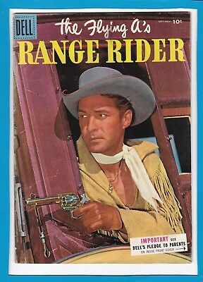 The Flying A's_Range Rider #11_Sept/nov 1955_Very Good/fine_Silver Age Dell!