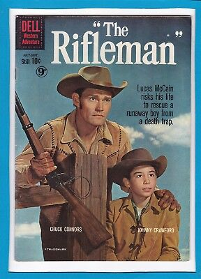 The Rifleman #4_July/sept 1960_Fine+_Silver Age Dell Western Adventure!