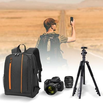 Camera Backpack Bag Waterproof Laptop Shoulder Bag for Canon Nikon Sony DSLR
