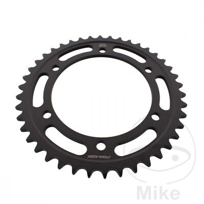JT Rear Sprocket 42T 525P JTR300.42ZBK Steel Black Yamaha TDM 900 A ABS 2006