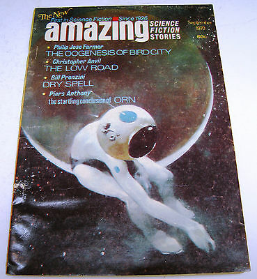 [The New] Amazing Stories - US Digest - September 1970 - Philip Jose Farmer