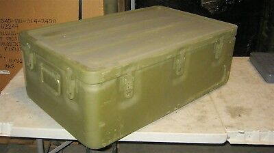 32x20x11 Aluminum Military Medical Chest Watertight Survival Bug Out Storage Box