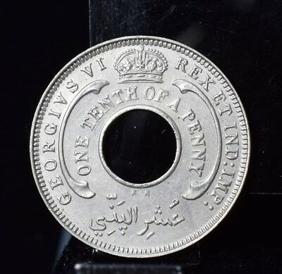 1946-KN British West Africa 1/10 Penny