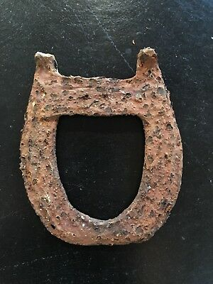 Antique Vintage Horseshoe   Old, Rusty, Hand Made  Lucky Charm or Rustic Decor