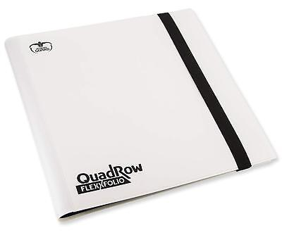 Ultimate Guard - 12-Pocket QuadRow Flexxfolio White - NUOVO #NSF3