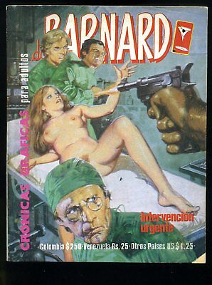 DR. BARNARD~#11~EROTIC~ITALIAN / MEXICAN~NUDITY~ADULT ORIENTED~Ships From the US