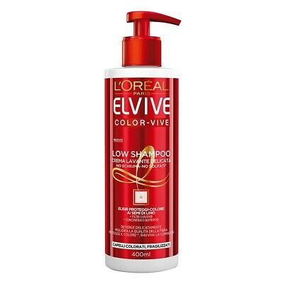 L'oreal Paris L'oreal - Elvive Couleur Vivre Low Shamp.400Ml - 3600523328925
