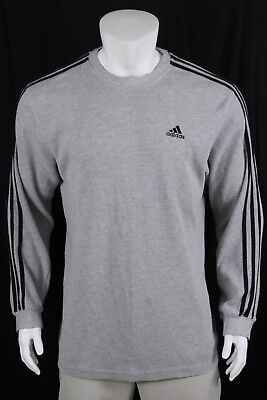 646a0b76c ADIDAS MENS SIZE XL Athletic Gray Black Polyester Woven Track 3S ...