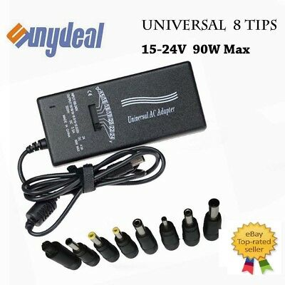 UNIVERSAL LAPTOP NOTEBOOK AC ADAPTER CHARGER POWER SUPPLY CORD For HP 90W 15/24V